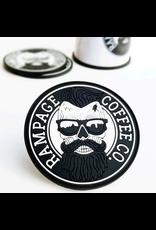 Rampage Coffee Co. Rampage Coffee, Rubber Coaster