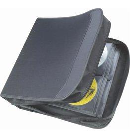 Staples Staples 128 CD/DVD Capacity Case Black Nylon