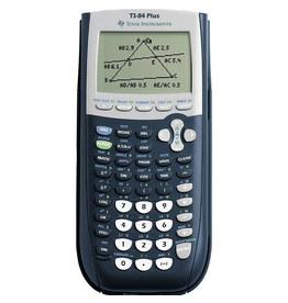 Texas Instruments Texas Instruments TI-84 Plus Graphing Calculator Black