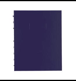 Blueline NOTEBOOK-NOTEPRO, 192 PAGE TWIN-WIRE 9.25X7.25 PURPLE