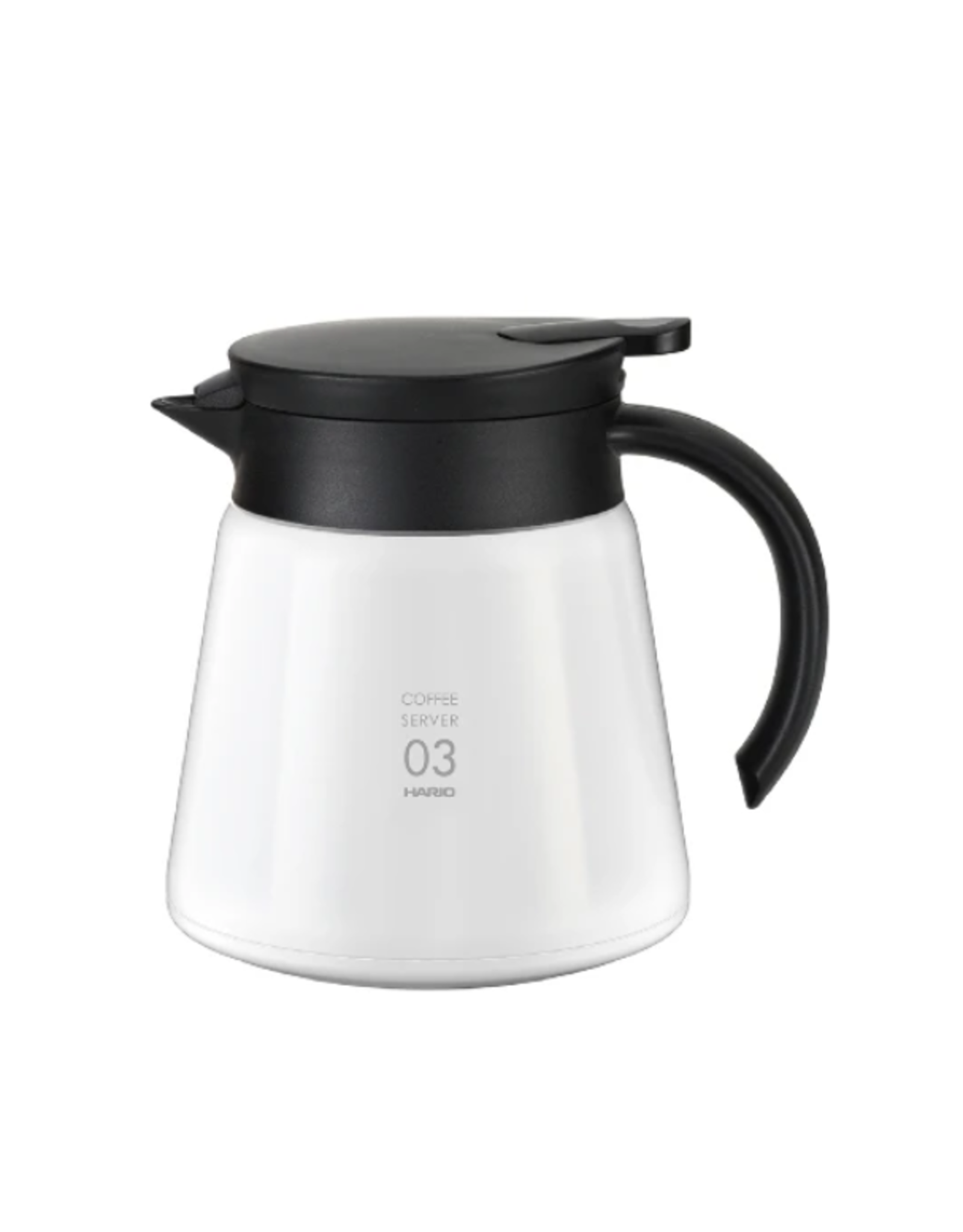 Hario Hario V60-03 Insulated Stainless Steel Server White