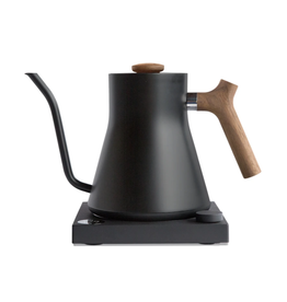 Fellow Fellow Stagg EKG Electric Pour Over Kettle Matte Black Walnut