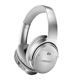 Bose Bose QuietComfort 35 II Wireless Headphones Silver with Alexa Voice Control