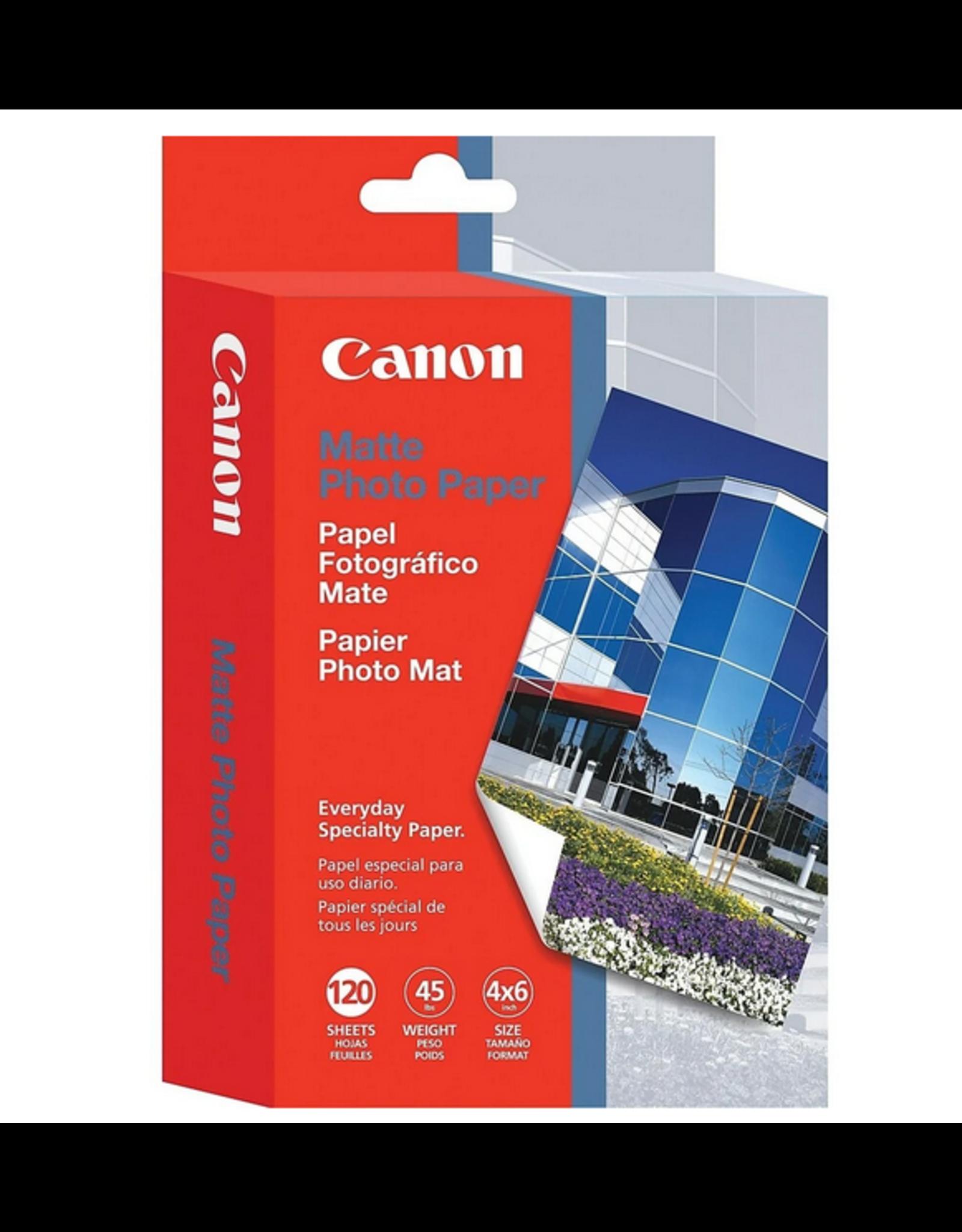 "Canon Canon MP-101 Inkjet Photo Paper 4"" x 6"" Matte 120 Sheets"