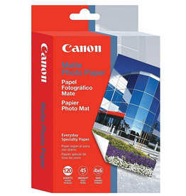 "Canon Canon MP-101 Inkjet Photo Paper 4"" x 6"" Matte 120 Sheets"