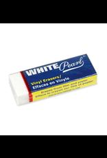 """Prang ERASER-VINYL WHITE PEARL LARGE 2-3/8 X 7/8 X 1/2"""" -39701C"""