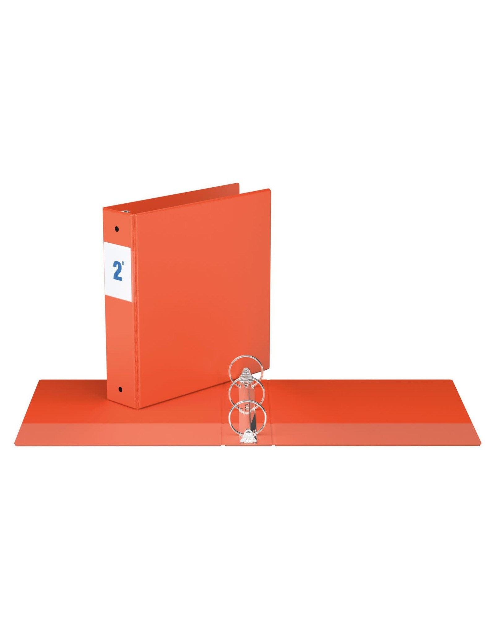 "Davis Group BINDER-ESSENTIAL 2300 2"" ROUND RING, ORANGE"