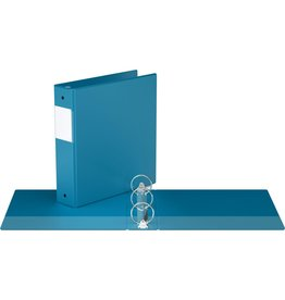 "Davis Group BINDER-ESSENTIAL 2300 2"" ROUND RING, TURQUOISE BLUE"