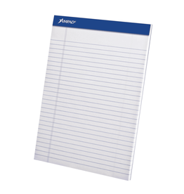 TOPS Products WRITING PAD-PERFED, LETTER AMPAD 50 SHEET WHITE