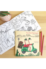 Amelie Legault Amelie Legault The Pink Flamingos Coloring Book