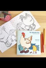 Amelie Legault Amelie Legault The Fashionable Hens Coloring Book