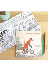 Amelie Legault Amelie Legault Animals on Bikes From the Forest to the Town Coloring Book