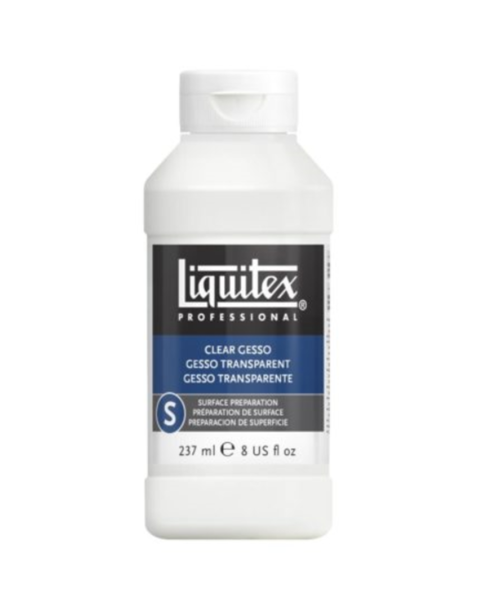 Colart GESSO-LIQUITEX CLEAR 237ML. SURFACE PREP