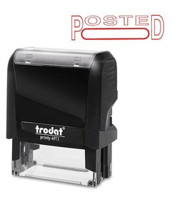 Trodat STAMP-PRINTY, LARGE, POSTED (BOX UNDER)