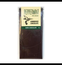 Hummingbird Chocolate Hummingbird Chocolate, Dark Peppermint, 60g