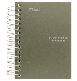 Hilroy NOTEBOOK-COIL, FIVE STAR FAT LIL 400 PAGES 5-1/2X4-1/8 ASST.