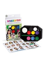 Colart FACE PAINT KIT-SNAZAROO, RAINBOW PALLETE