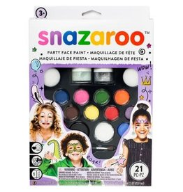 Colart FACE PAINT KIT-SNAZAROO, ULTIMATE PARTY PACK