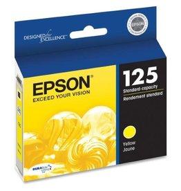 Epson INKJET CARTRIDGE-EPSON #125 YELLOW