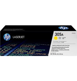 HP LASER TONER-HP #305A YELLOW