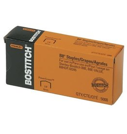 Bostitch STAPLES-B8 POWERCROWN 1/4'' LEG