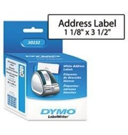 Dymo LABELS-DYMO LABELWRITER, ADDRESS 1-1/8X3-1/2, 700/PK