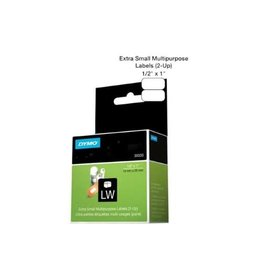 Dymo LABELS-DYMO LABELWRITER, MULTI-PURPOSE 1/2X1, 2-UP, 1000/PK