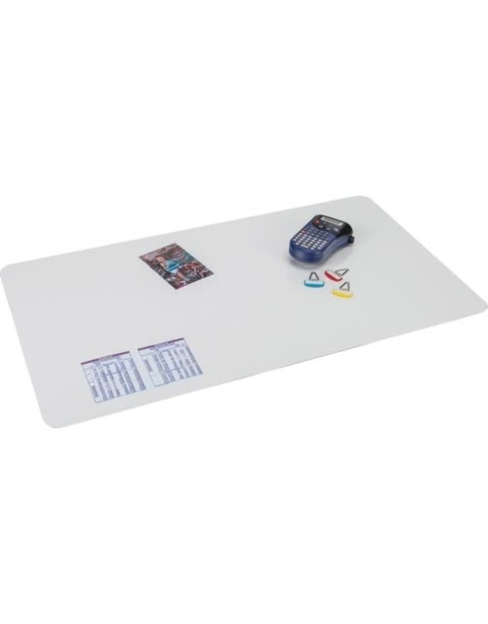 Artistic Products DESK PAD-KRYSTAL VIEW 19''X24'' CLEAR, WITH MICROBAN