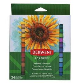 Derwent PASTELS-SOFT, DERWENT ACADEMY, 24 COLOURS