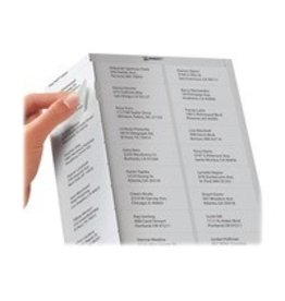 Avery LABELS-ADDRESS EASY PEEL WHITE 1X4 500/EV