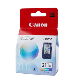 Canon INKJET CARTRIDGE-CANON #CL211XL COLOUR HIGH YIELD