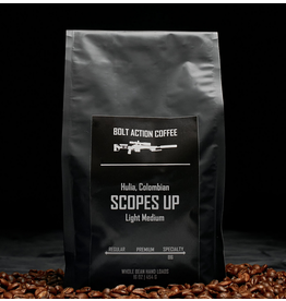 Bolt Action Coffee Bolt Action Coffee, Scopes Up 1 lb