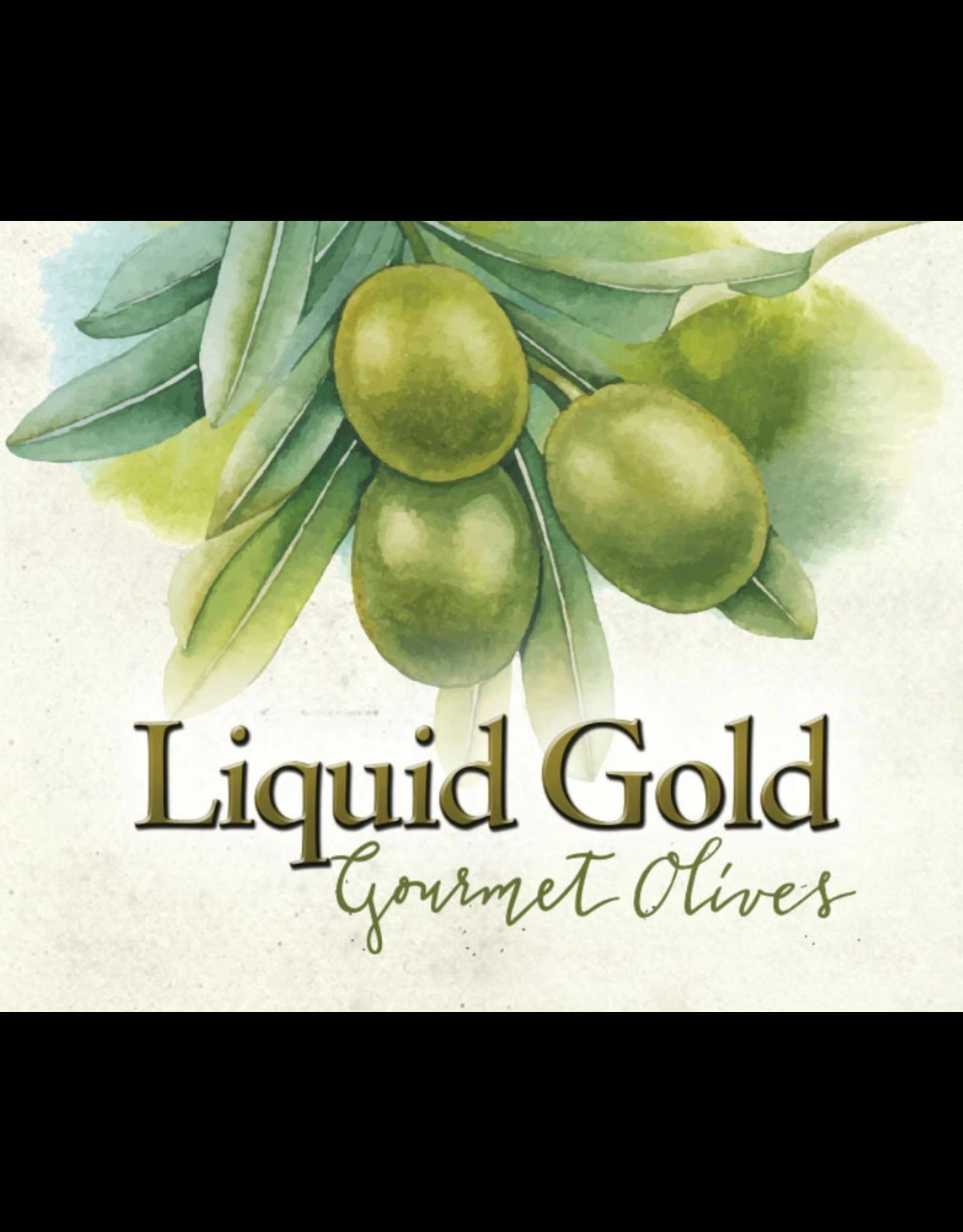 Liquid Gold Olive Oils & Vinegars Inc Liquid Gold, Almond Stuffed Olives