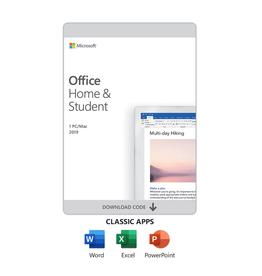 Microsoft Software - Microsoft Office - Home & Student 2019 - Includes Word, Excel & Power Point