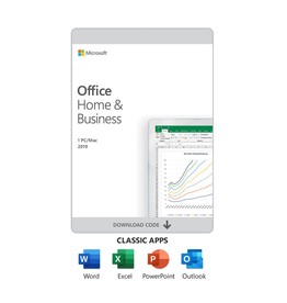 Microsoft Software - Microsoft Office - Home & Business 2019 - Includes Word, Excel, Power Point & Outlook