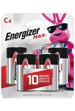 Energizer Energizer MAX C Alkaline Batteries 4 pack