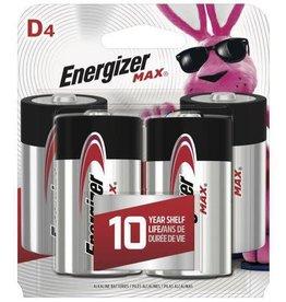 Energizer Energizer MAX D Alkaline Batteries 4 pack