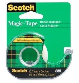 3M TAPE-TRANSPARENT MAGIC 12.7MMX32.9, PREMIUM PACK
