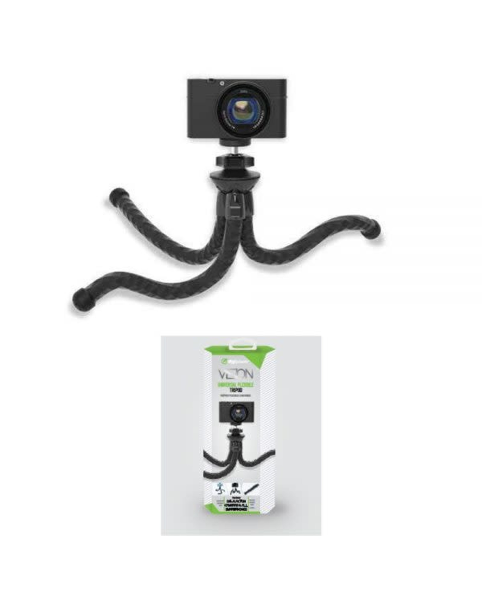 Digipower Digipower Vlogging Flexible Tripod Universal Smartphones SKU:50463