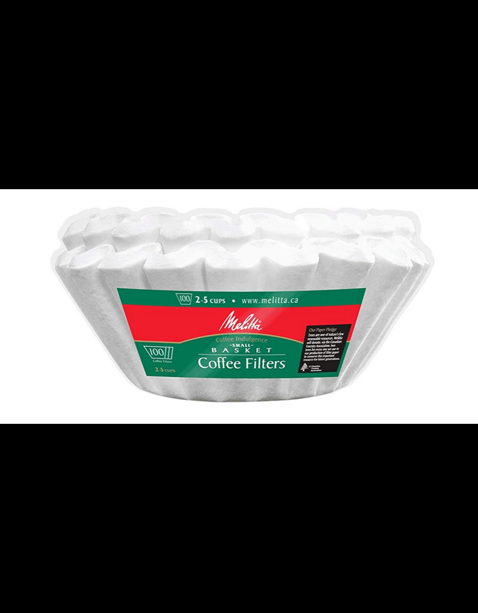 Melitta Melitta Small Basket Coffee Filters 100/pack