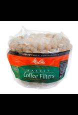 Melitta Melitta Natural Brown Large Basket Coffee Filters 100/pack