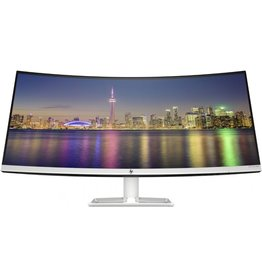 HP Monitor - HP - 34 inch - Curved - Ultrawide - WQHD 3440 x 1440 - IPS - 60 hz - AMD Freesync - 300 cd/m²