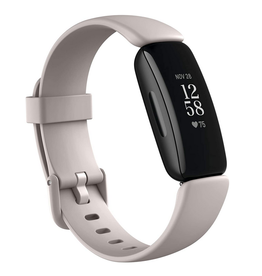 Fitbit Fitbit Inspire 2 Health & Fitness Tracker, Lunar White/Black