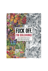 Dare You Stamp Co. Colouring Book for Adults, F*ck Off, I'm Coloring