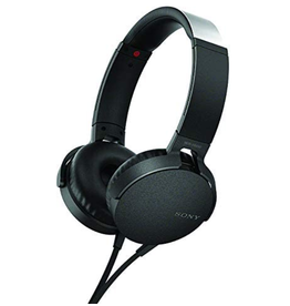 Sony Sony Extra Bass Headphones, Black