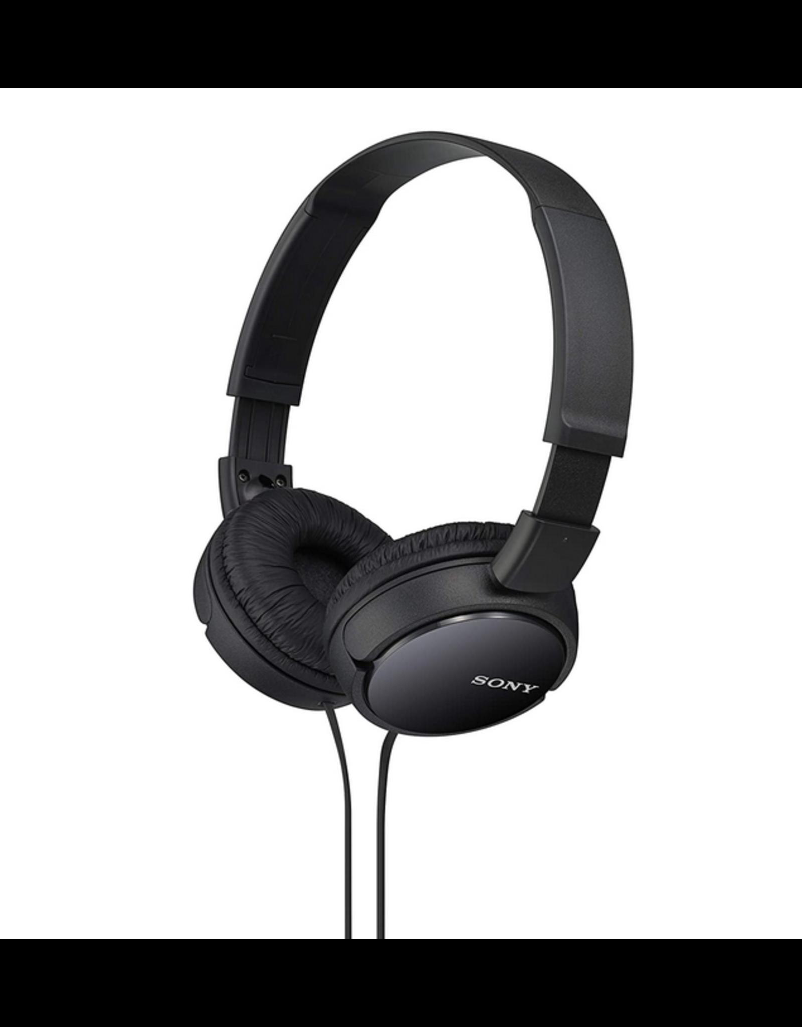 Sony Sony MDRZX110 Over Ear Headphones, Black