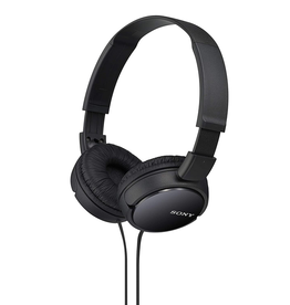 Sony Sony MDRZX110 Over Ear Headphones, Black