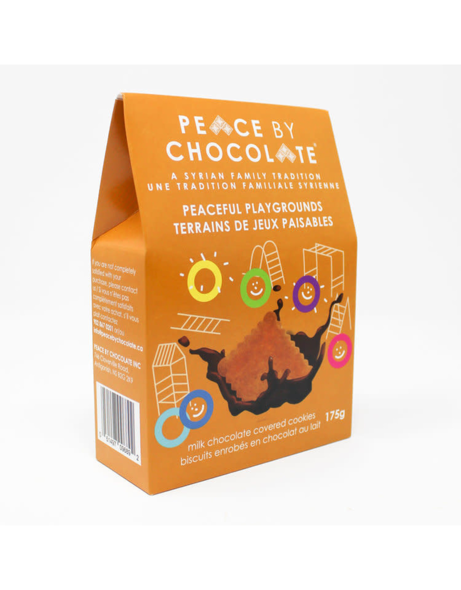 Peace by Chocolate Peace by Chocolate, Peaceful Playgrounds Chocolate Covered Cookies 175g
