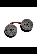 Staples C-Wind Universal Calculator Ribbon, Black & Red