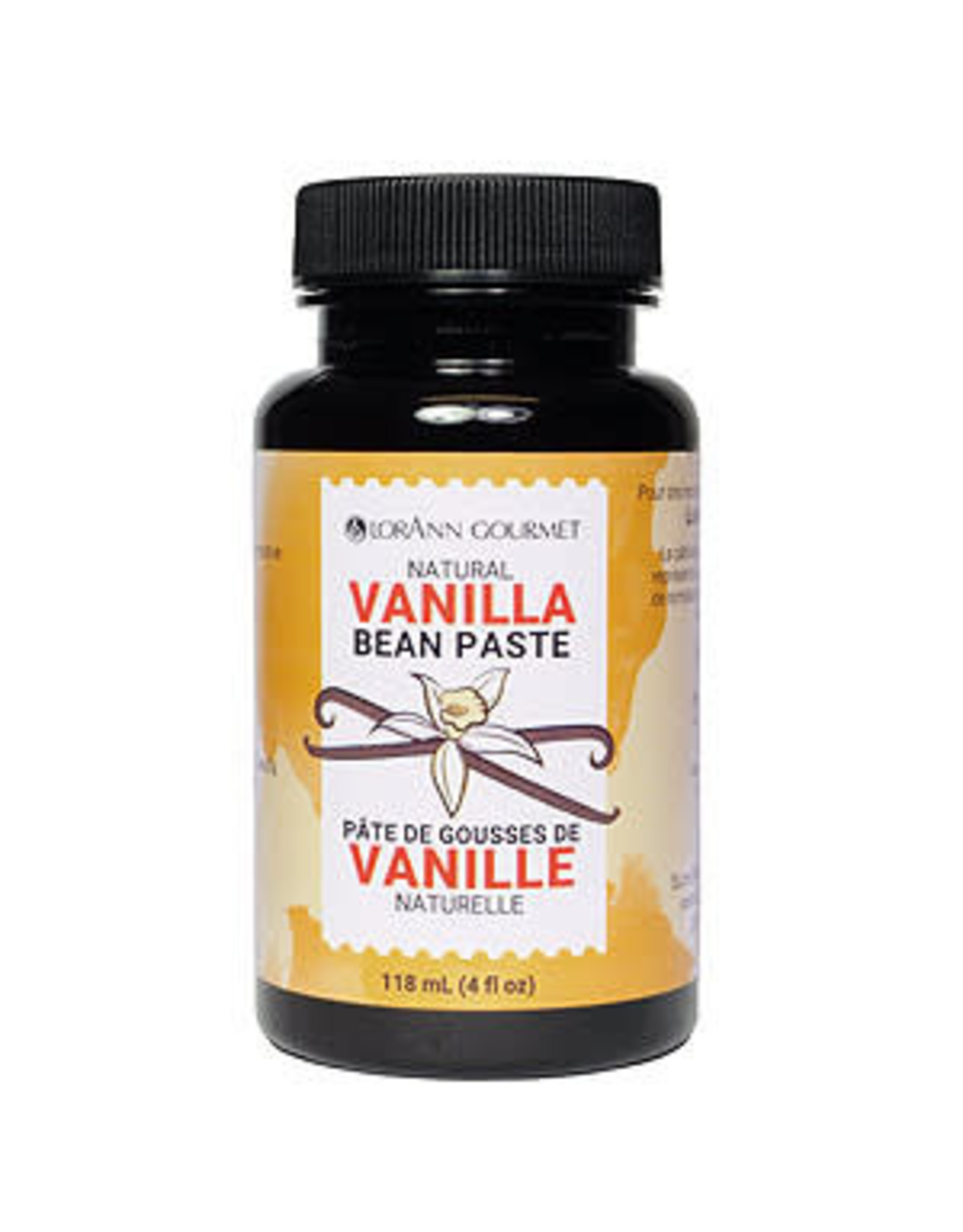 LorAnn Gourmet LorAnn's Pure Vanilla Bean Paste Blend 4 oz (118mL)